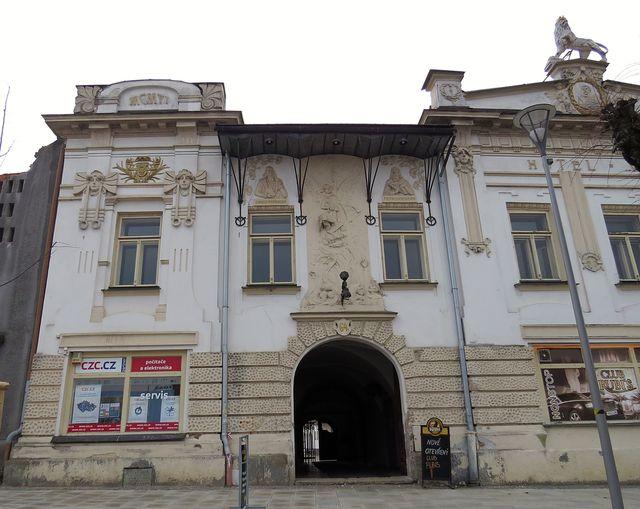 bývalý hotel Veliš