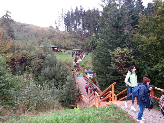 most přes hraniční potok byl vybudován v roce 2007
