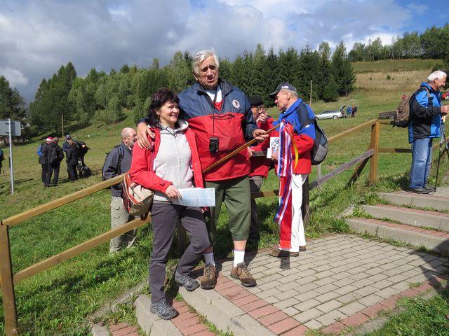 organizátor Mgr. Jan Sládek a Ing. Jan Havelka před odchodem na trasu