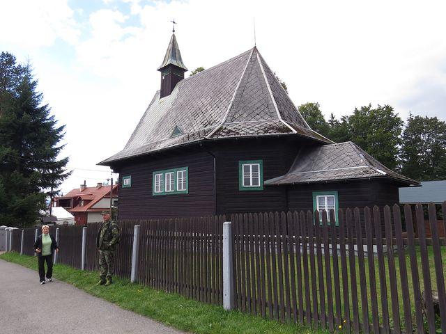 kostel sv. Cyrila a Metoděje v Hrčavě
