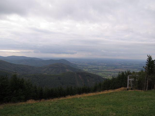výhled z Javorového