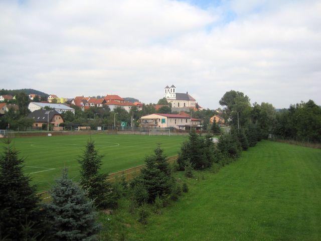 přibyslavický poutní kostel