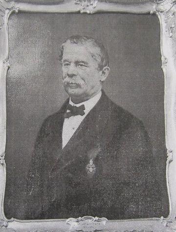 JUDr. Johann Merta z Mährentreu, jihlavský starosta