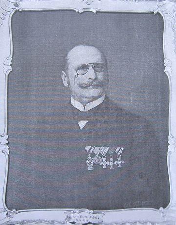 starosta Vinzenz Inderka, jihlavský lékárník
