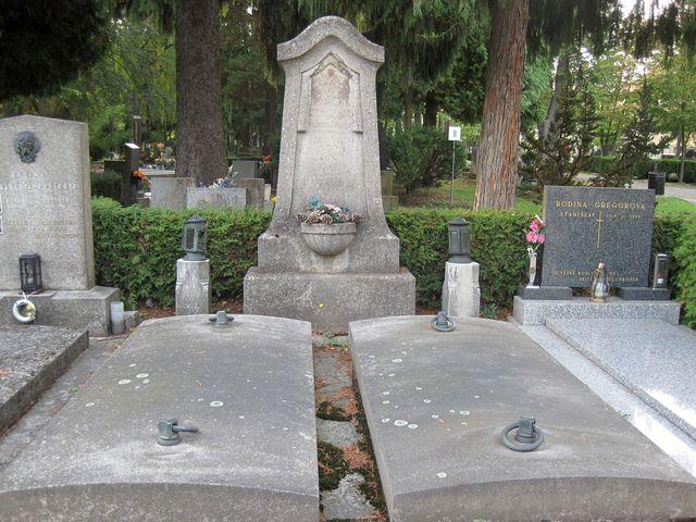 hrob rodiny Inderků