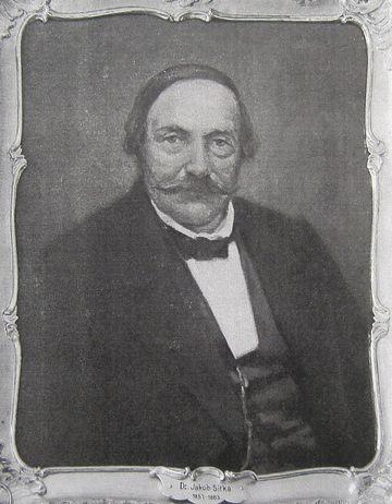 JUDr. Jakob Sitka, starosta Jihlavy a poslanec Říšského sněmu