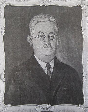 JUDr. Rudolf Veverka, první český starosta Jihlavy zvolený v roce 1925
