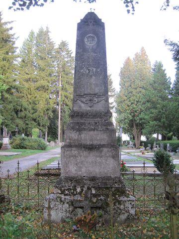 náhrobek rodiny Franze Gottfrieda Czapa
