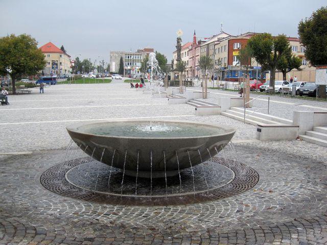 centrum Žďáru nad Sázavou