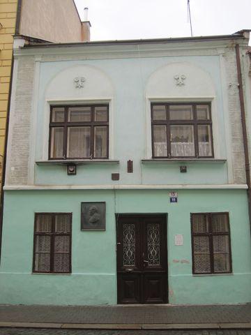 rodný dům M. Švabinského v Kroměříži