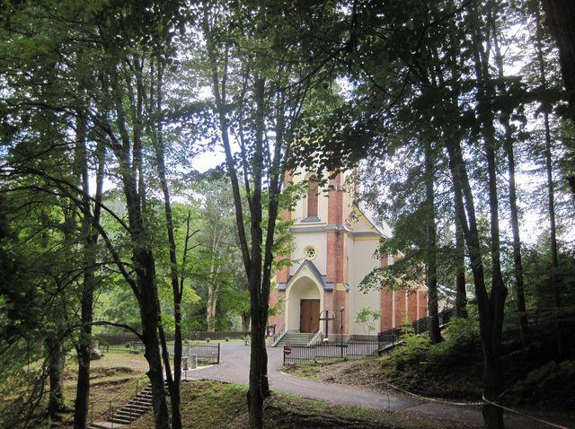 kostel Povýšení sv. Kříže v Horní Lomné; www.svatosi.cz