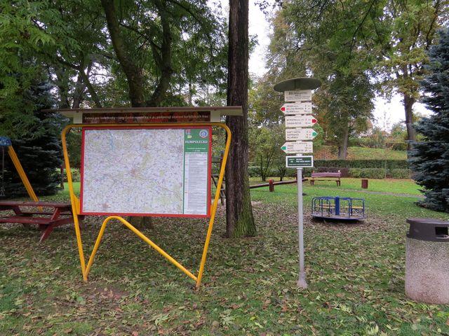 turistické zákoutí v želivském parčíku