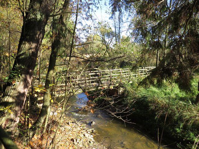 mostek přes Stržský potok