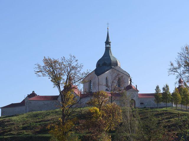 poutní kostel na Zelené hoře je zapsán na seznamu světového dědictví UNESCO