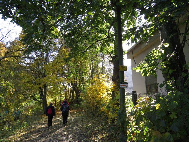 trasa příjemné naučné stezky pod Zelenou horou