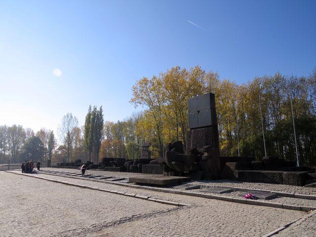 památník Holocaustu v Birkenau