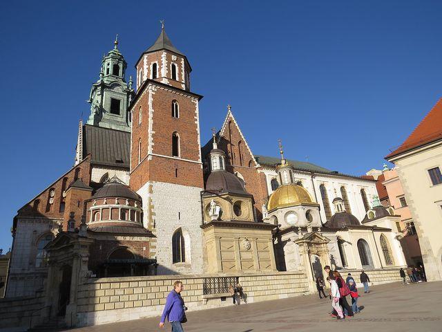 na Wawelu, jednom z nejkrásnějších sídel v Evropě byli korunováni (a pochováváni) polští králové