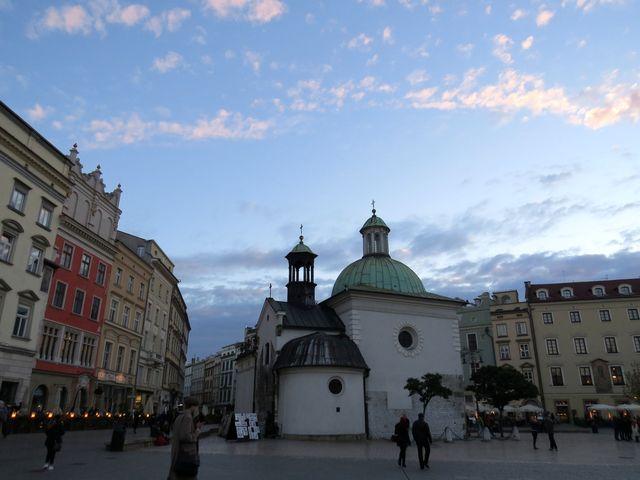 kostelík sv. Vojtěcha stojí na místě, kde kázal světec, vznik je kladen na přelom 10. a 11. století