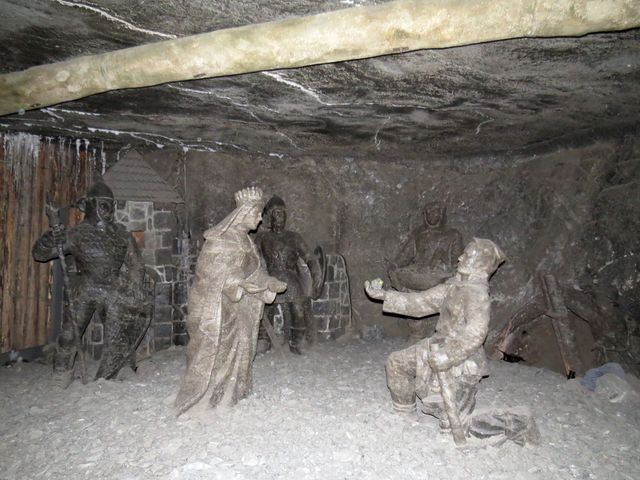 sv. Kinga Polská je patronkou horníků ve Věličce