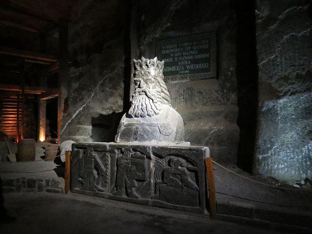 Kazimír Veliký vládl v polovině 14. století, což bylo zlaté období polského středověku
