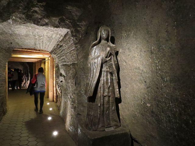 solný důl je vlastně galerií