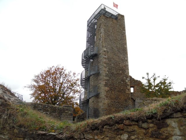 hranolová věž byla zpřístupněna pro vyhlídky