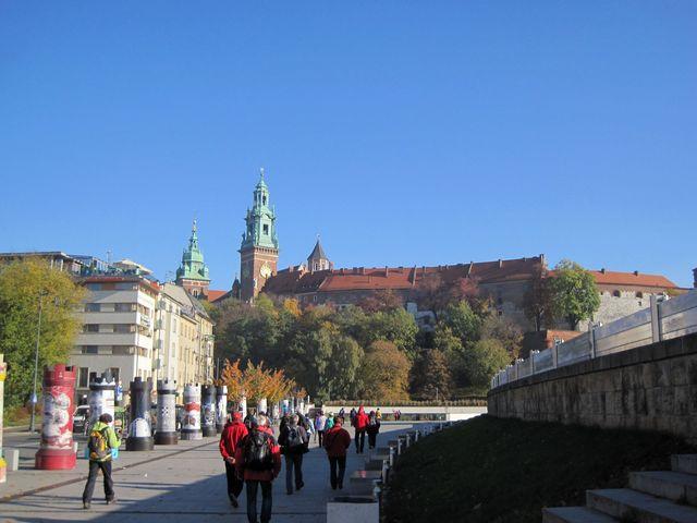 Krakov - královský Wawel