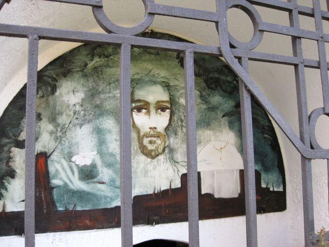 obraz Bedřišky Znojemské na Božím hrobě