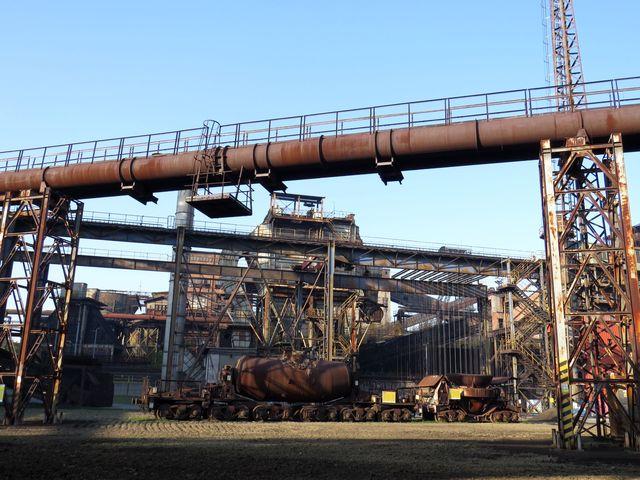 železárny ve Vítkovicích byly založeny v roce 1828