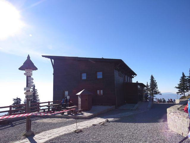 chata Petra Bezruče na Lysé hoře