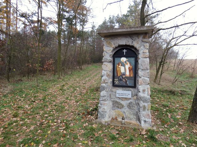 první ze sedmi kapliček Bolestné Panny Marie