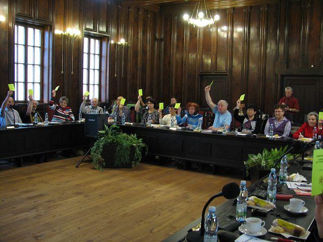 delegáti z turistických odborů na Vysočině; foto F. Janeček