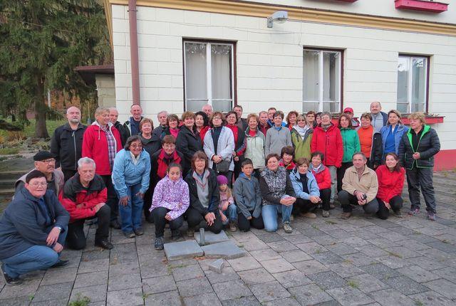 účastníci zájezdu; foto Míla Bradová