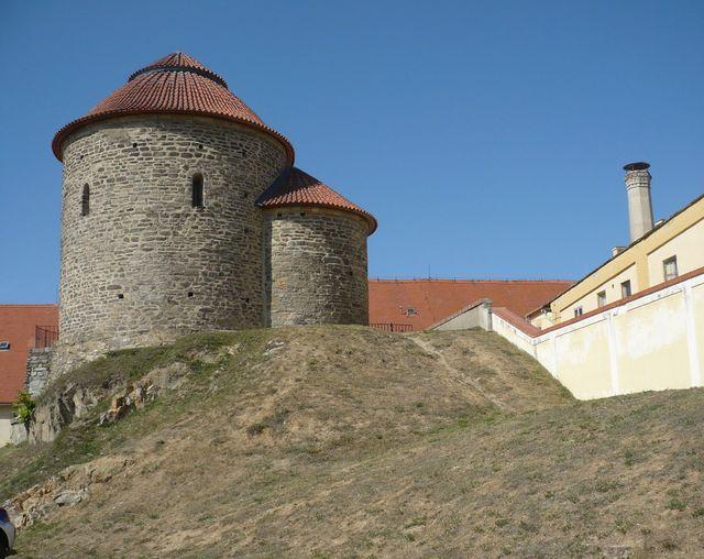 rotunda sv. Kateřiny - nejstarší obrazárna české státnosti - nejvzácnější kulturní památka Znojma