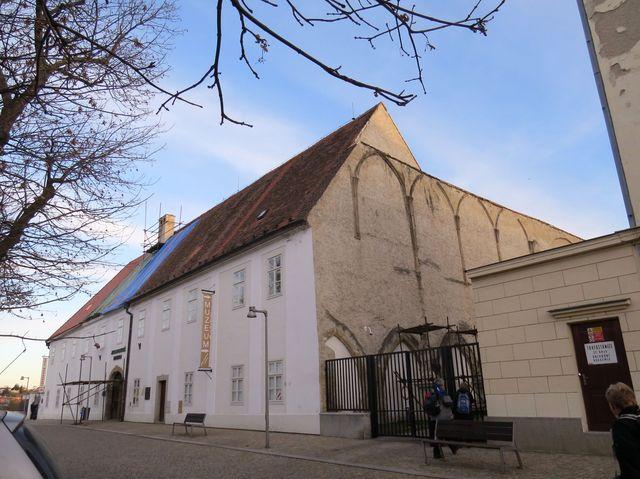 bývalý minoritský klášter, dnes muzeum; www.svatosi.cz