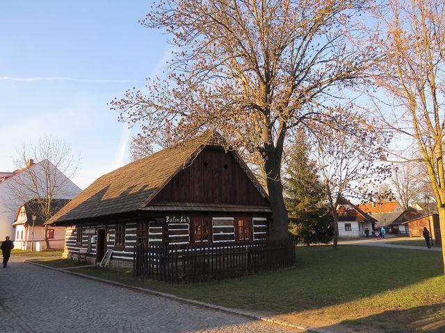hlinecký Betlém v zimě roku 2015
