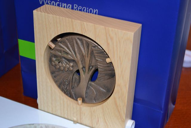 pamětní medaile Kraje Vysočina