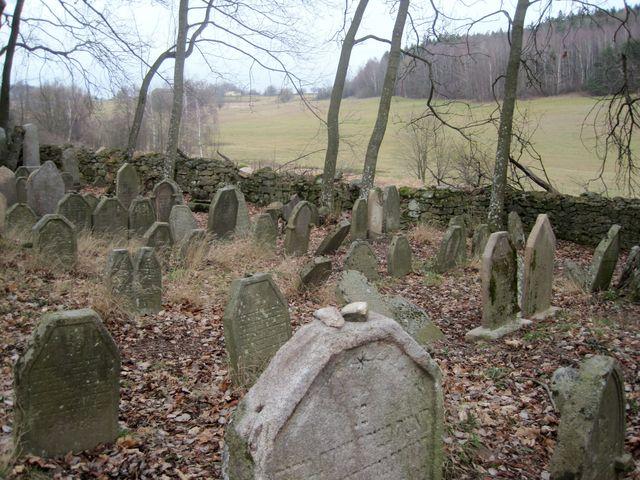 židovský hřbitov u Větrného Jeníkova byl prohlášen kulturní památkou