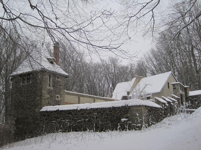 Větrný zámek na vrchu Křemešník