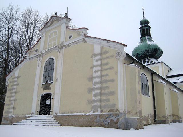 poutní kostel na vrchu Křemešník