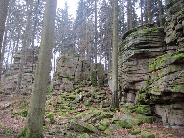 přírodní památka Čertův hrádek