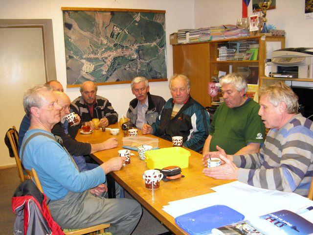 posezení u kávy se starostou Dolní Cerekve Zdeňkem Jirsou