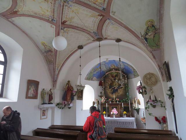 interiér kaple; www.svatosi.cz