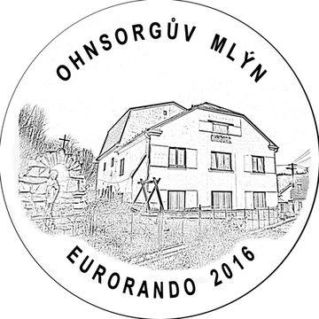 Ohnsorgův mlýn na razítku vydaném při příležitosti Euroranda 2016