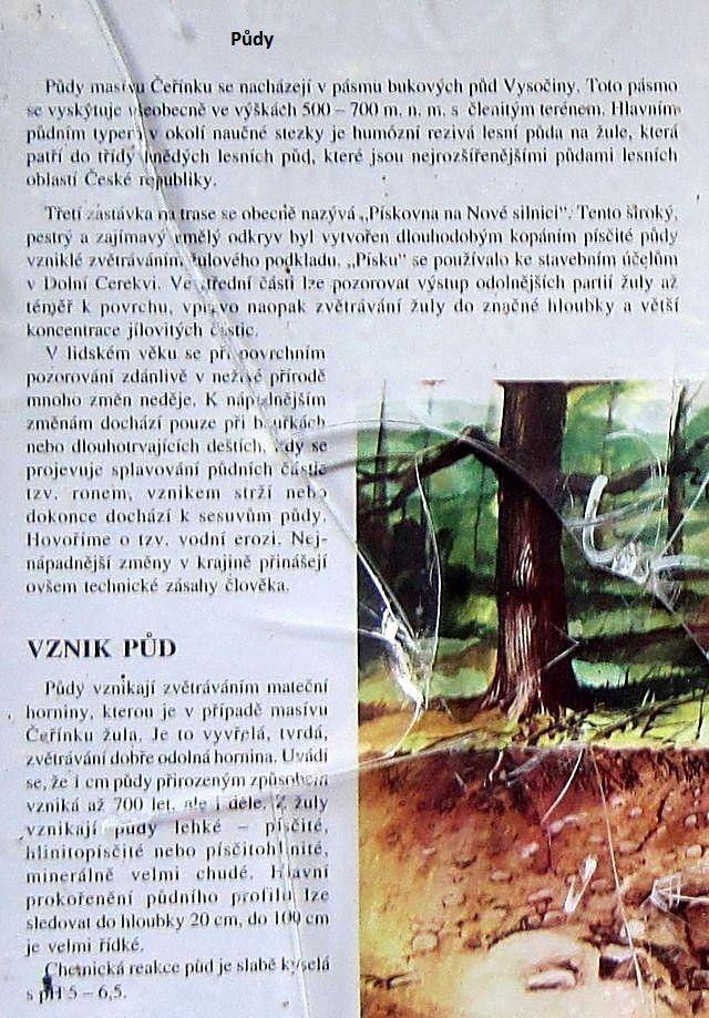 text na tabuli zastávky č. 3