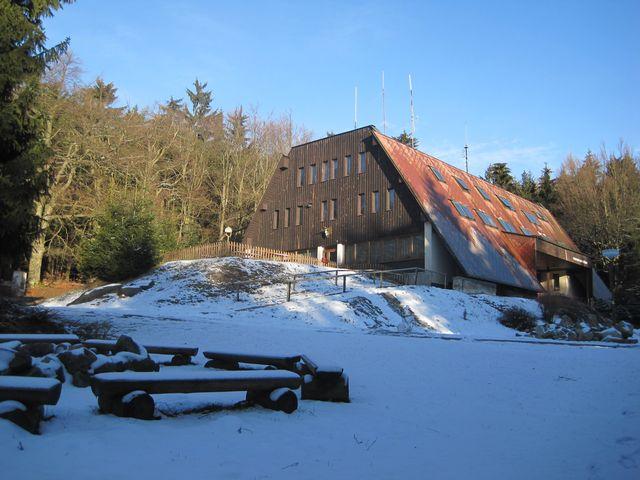 na Čeřínku byl v polovině února sníh