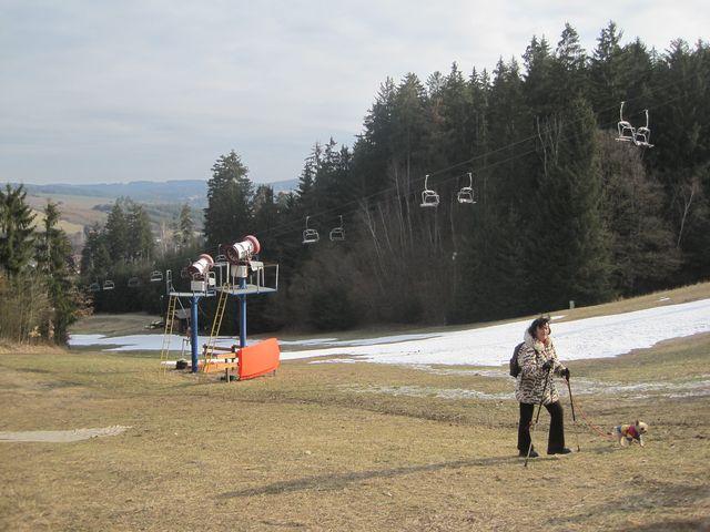 sjezdovka v Lukách nad Jihlavou
