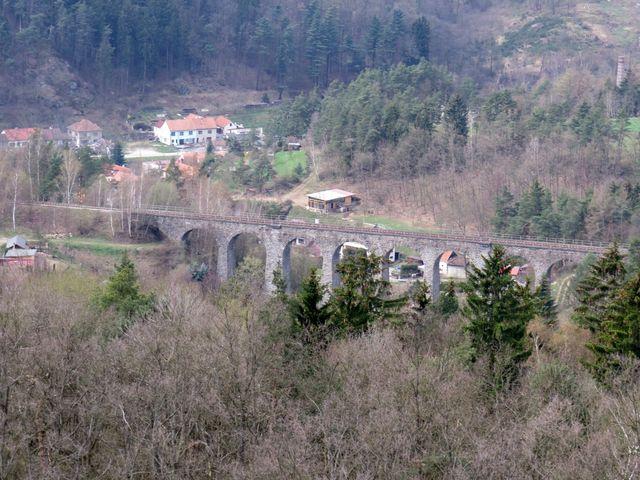 """jeden z mostů """"na Potokách"""""""