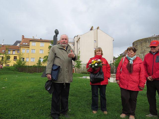 JUDr. Jiří Šimánek, jednatel Společenství pro postavení pomníku Gustava Mahlera v Jihlavě
