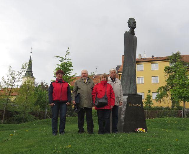 turisté vzdali poctu Gustavu Mahlerovi